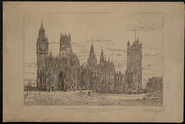 Design for the completion of the Houses of Parliament