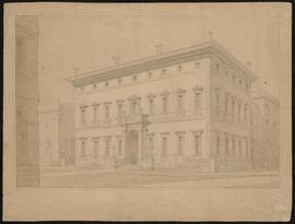 Manchester Athenaeum, a perspective view