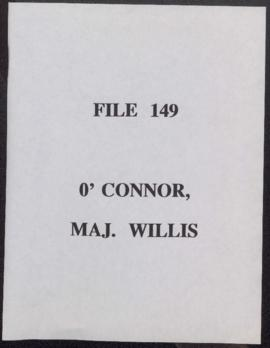 O'Connor, Maj. Willis