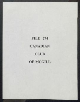 Canadian Club of McGill