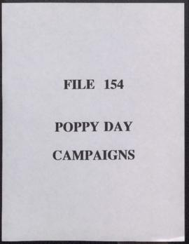 Poppy Day Campaigns