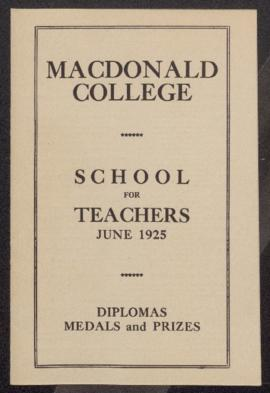 MacDonald College: Teachers