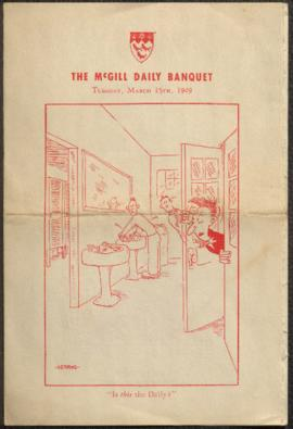 McGill Daily ephemera