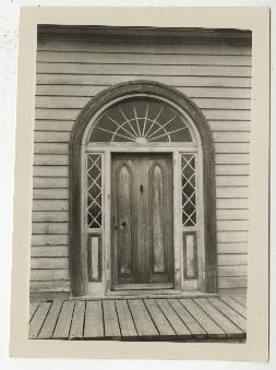 Arched door, Perce, Quebec