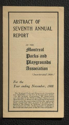 Annual Report (Abstract)