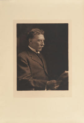 Photograph portrait of A. D. Blackader, by Notman & Son