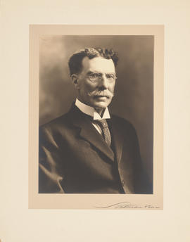 Portrait of A. D. Blackader, 1/2 length, to right