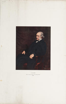 Lister. After a portrait by Mr. J.H. Lorimer, R.S.A. (1895)