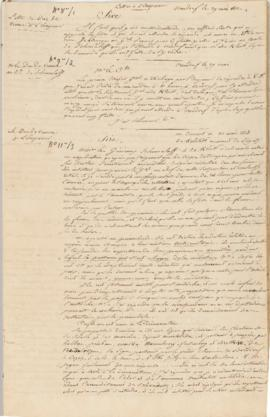 Caulaincourt's relay of the proceedings of the Pleswitz Armistice negotiations to Napoleon and Be...