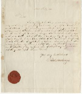 Letter from Roderick Mackenzie to Simon McTavish, 11 May 1800