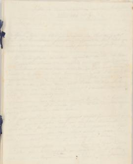 Letter from Joseph Fouché (Duke of Otranto) to the Duke of Wellington