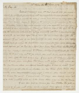 Letter from D. A. Grant to Simon McTavish, 8 June 1792