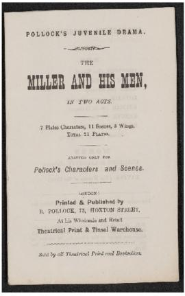 The Miller and his Men, in two acts