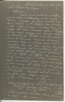 Photocopy of Letterbook