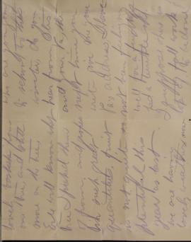 Letter from H. Curtis to Stella Curtis